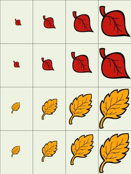 Leaf Pile Quick Play Game for Language and Articulation