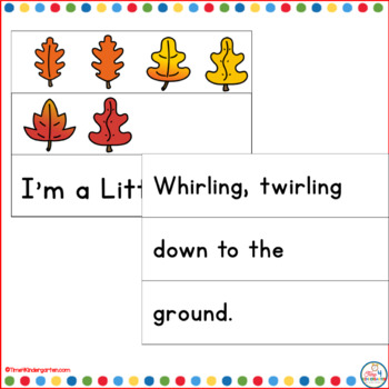 Leaf Poetry for the Pocket Chart