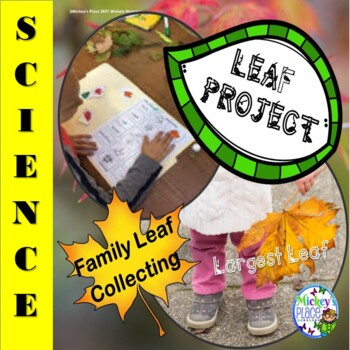 Leaf Project:  Primary Grades