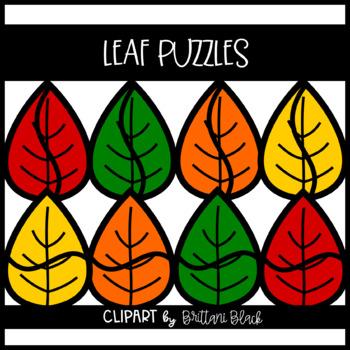 Leaf Puzzles~ Clipart