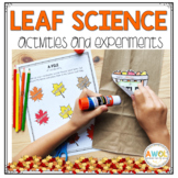 Leaf Science Experiments for Pre-K to First Grade