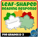 Leaf Shaped Reading Response for Any Book Grades K-3