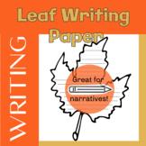 Leaf-Shaped Writing Paper