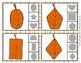 Autumn Leaf Shapes Clip Cards