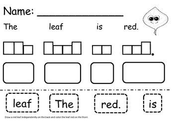 Leaf Story for Little Darlings