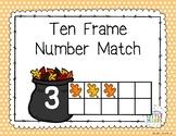 Leaf Ten Frame Number Match
