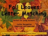 Leaf Uppercase & Lowercase Letter Match