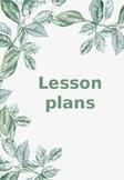 Leaf editable binder covers