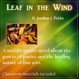 Leaf in the Wind - A book about poetry, dyslexia, nature and summer camp!