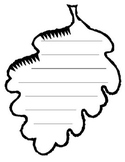 Leaf lined paper