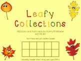 Leafy Collections Addition and Subtraction Mixed Story Pro