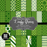 12x12 Digital Paper - Color Scheme Collection: Leafy Green