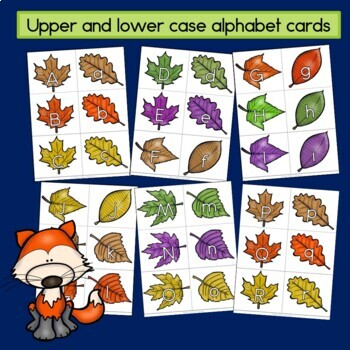 Leafy Letter Learning: Fall Alphabet activities for Preschool and Kindergarten