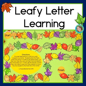 Fall Alphabet activities with leaves