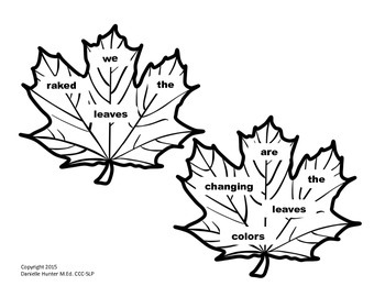 Leafy Sentences