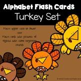 Alphabet Flash Cards  Turkey Set