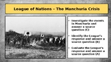 League of Nations - The Manchuria Crisis