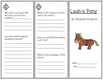 """Leah's Pony"" Trifold"