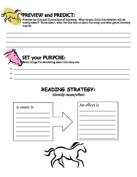 Leah's Pony Reading Guide