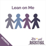 Lean on Me - Instrumental Track