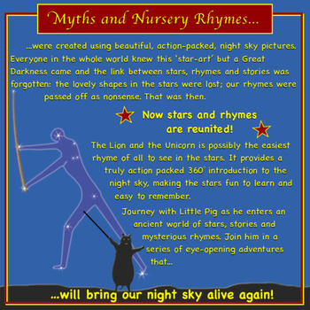 Learn the Stars and Constellations using Nursery Rhymes.