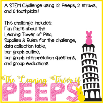 Leaning Tower of Peeps - STEM Challenge