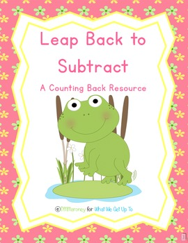 Leap Back to Subtract - Introduction to counting back