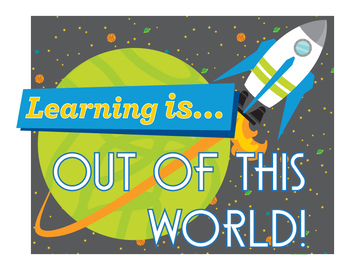 End of the Year Activities Differentiated Space Theme Day • DLITE Day