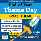 End of the Year Activities Differentiated Space Theme Day