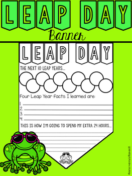 Leap Day Banner