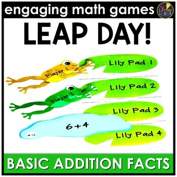 Leap Day Basic Addition Facts