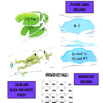 Leap Day Basic Subtraction Facts