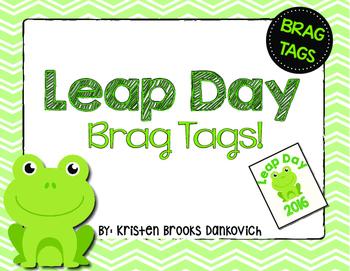 Leap Day Brag Tag!