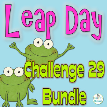 Leap Day Bundle;  PowerPoint Presentation and Task Card Activities