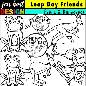 Leap Day Clipart