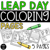 Leap Day Coloring Pages