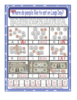 Leap Day-Counting Money