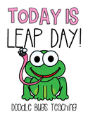 Leap Day { FREEBIE } Math Printables