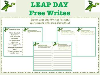 Leap Day Free Writes