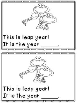 Leap Day Fun Freebie