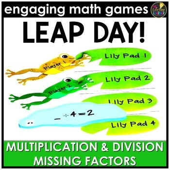Leap Day Missing Factors Game