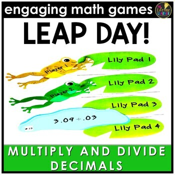 Leap Day Multiplying and Dividing Decimals