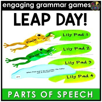 Leap Day Parts of Speech