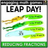 Leap Day Reducing Fractions
