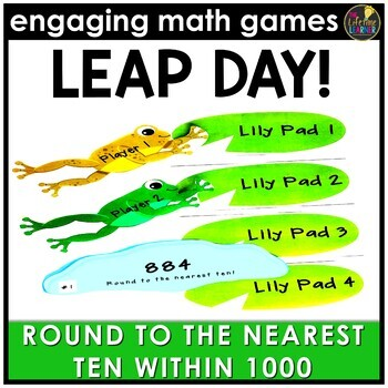 Leap Day Round to Nearest Ten Within 1000