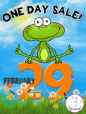 Leap Day SALE Tomorrow! 20% OFF Entire Store!