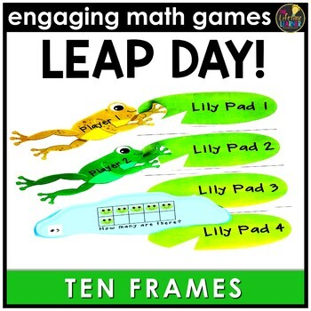 Leap Day Ten Frames Game