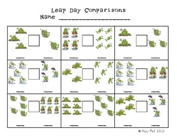 Leap Day Writing & Math