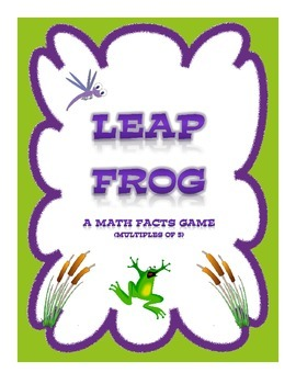 Leap Frog: A Math Facts Game (Multiples of 5)