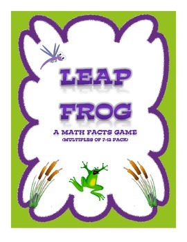 Leap Frog: A Math Facts Game (Multiples of 7-12 Pack)